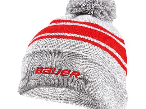 BAUER Striped Pom Pom