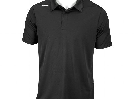 BAUER Short Sleeve Sport Polo – Senior